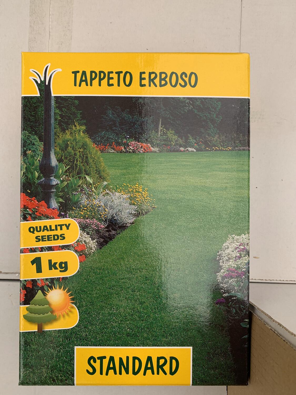 TAPPETO ERBOSO Standard SEMI 1 KG SEMENTI SEMENZA SEME PRATO LOIETTO FESTUCA