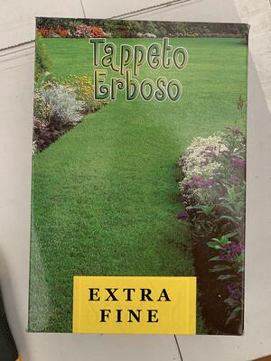 TAPPETO ERBOSO Extra Fine SCATOLA SEMI 1 KG Sementi Semenza Prato. Poa Festuca Agrostide