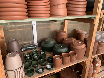 Sottovasi in Plastica Economici color terracotta