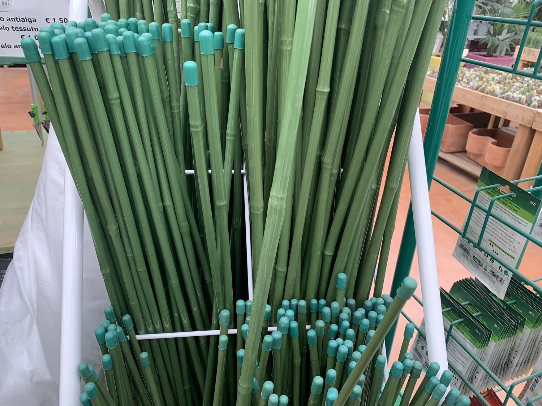 Canna Bamboo PLASTIFICATO Tutore pianta/orto Bastone Bastonicini Bastoncino