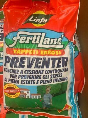CONCIME A LENTA CESSIONE PER PRATO Preventer