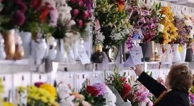 Mazzo frontale pronto Crisantemini per Forni/tombe a parete /