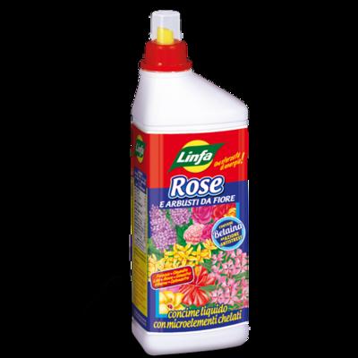 Concime liquido Rose e fiori 1 lt
