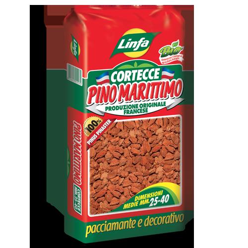 Corteccia Pacciamatura Pino Marittimo 60 lt