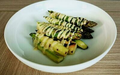 Grilled Asparagus (V)