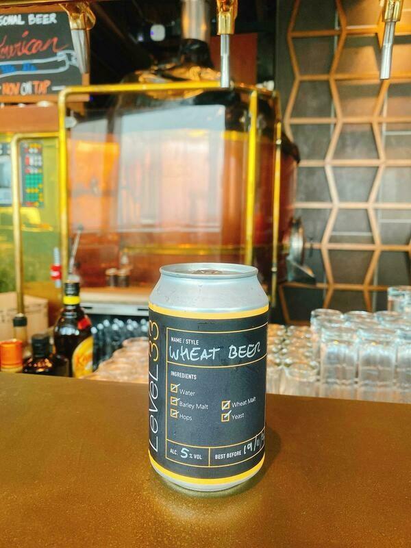 33.9 Wheat Beer 330ml