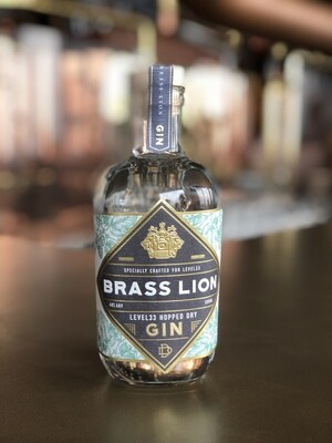 LeVeL33 Hopped Dry Gin by Brass Lion 500ml