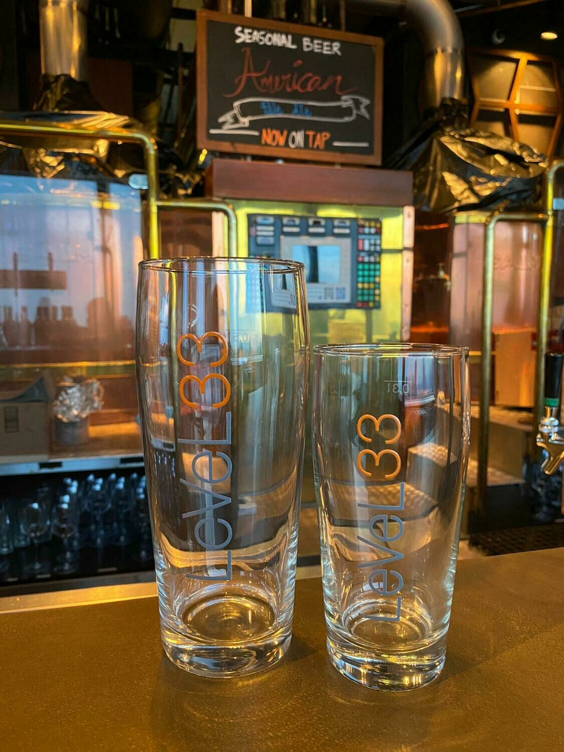 LeVeL33 Ale  Glasses
