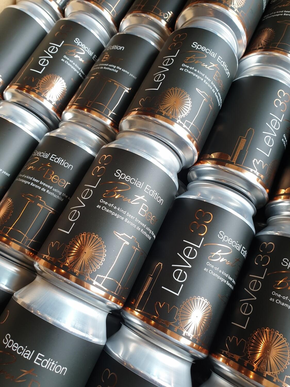 LeVeL33 Brut Beer (330ml)