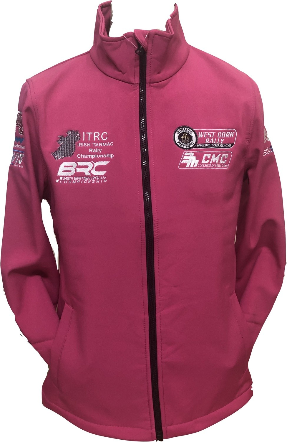 West Cork International Rally Ladies Soft Shell PINK