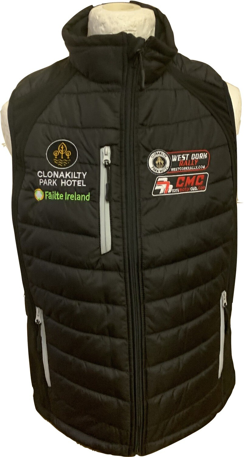 West Cork International Rally Bodywarmer/Puffer