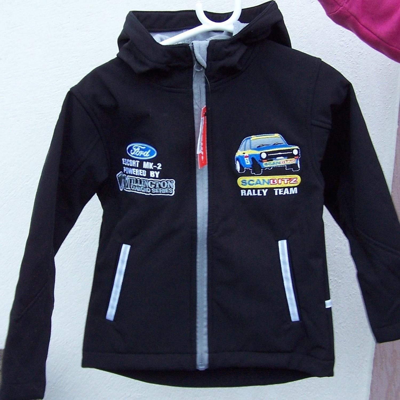 Kids Scanbitz Soft Shell Jacket