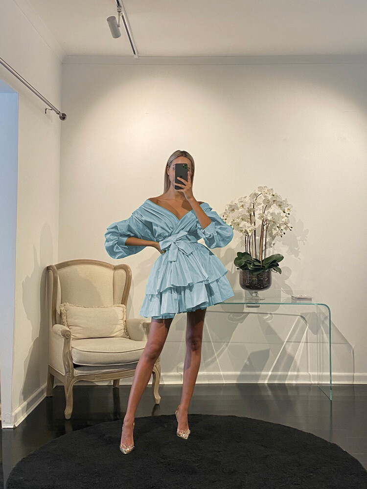 Chloe Dress Bleue