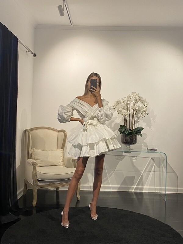 Chloe Dress Blanche