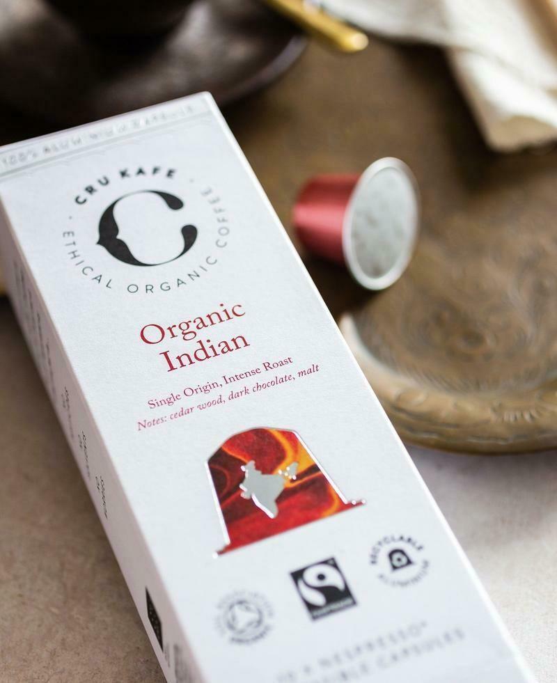 CRU KAFE Organic Indian Capsules