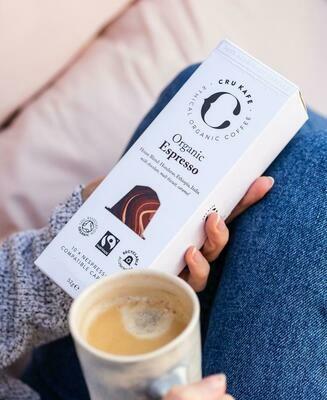 CRU KAFE Organic Espresso Capsules