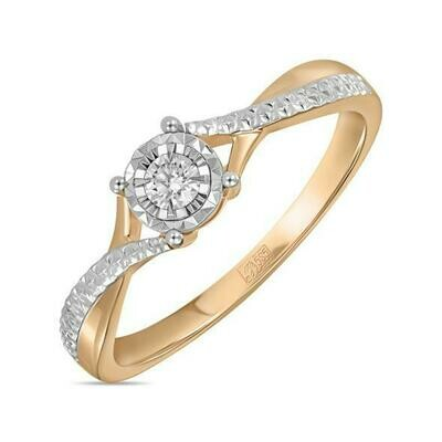Кольцо с бриллиантом R01-D-RR010205ADI