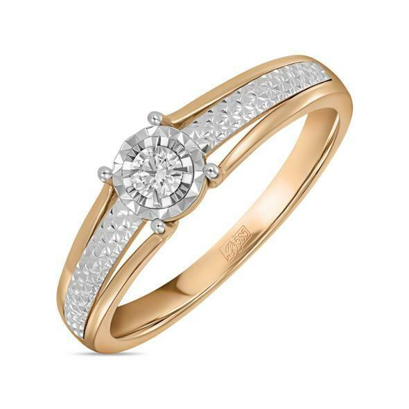 Кольцо с бриллиантом R01-D-RR010207ADI