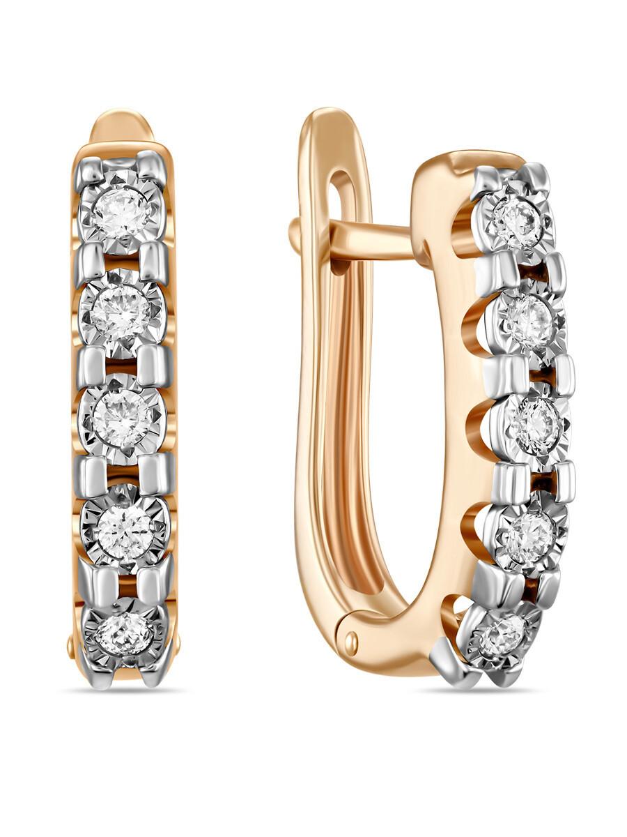 Серьги с бриллиантами E01-D-PL-33894