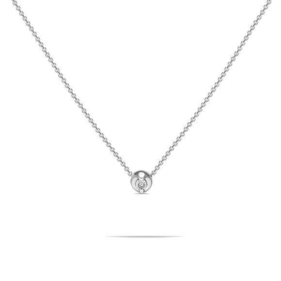 Колье с бриллиантом N01-D-L-PL-34977