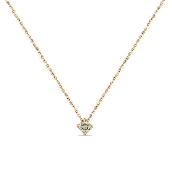 Колье с бриллиантом N01-D-SOL133-020-G2