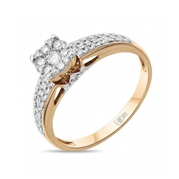 Кольцо с бриллиантами R01-D-33790