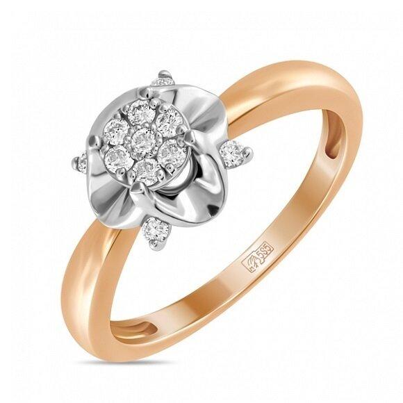 Кольцо с бриллиантами R01-D-34046