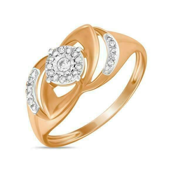 Кольцо с бриллиантами R01-D-70665R001-R17