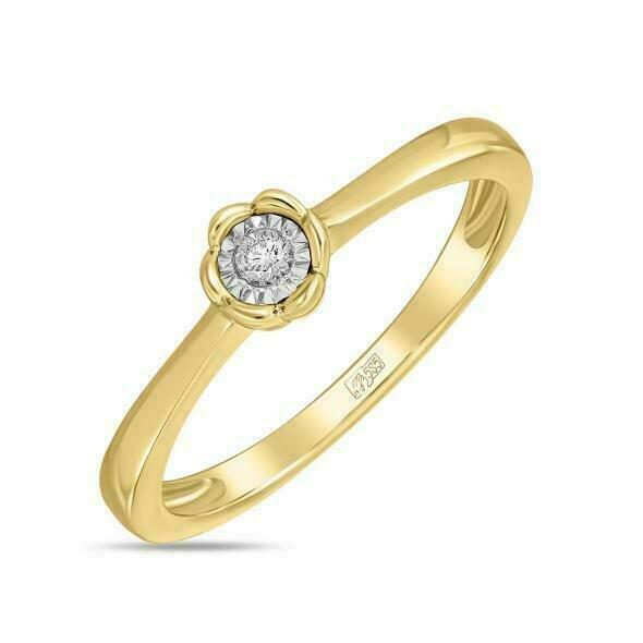 Кольцо с бриллиантом R01-D-IGR-33492