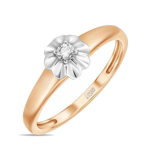 Кольцо с бриллиантом R01-D-L-34735