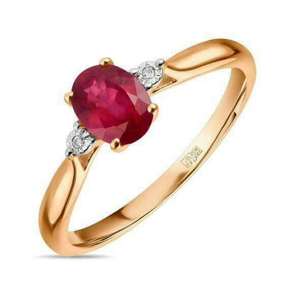 Кольцо с рубином R01-D-L-35041-RO