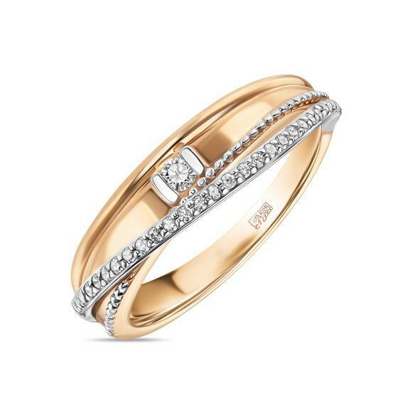 Кольцо с бриллиантами R01-D-L-35320