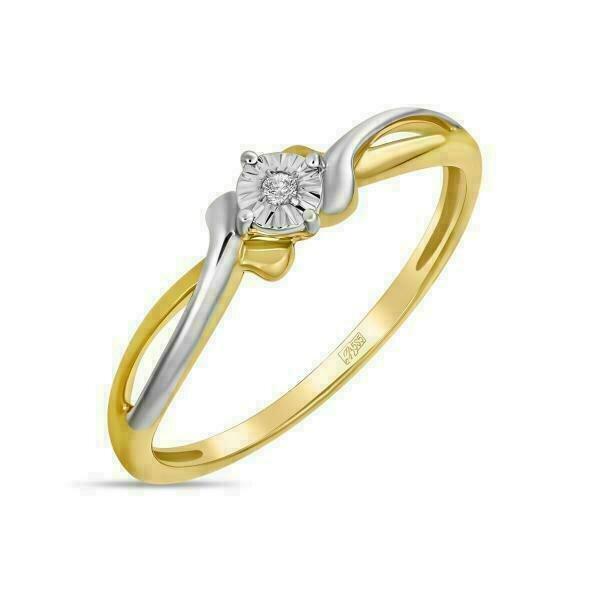 Кольцо с бриллиантом R01-D-L-PL-34964