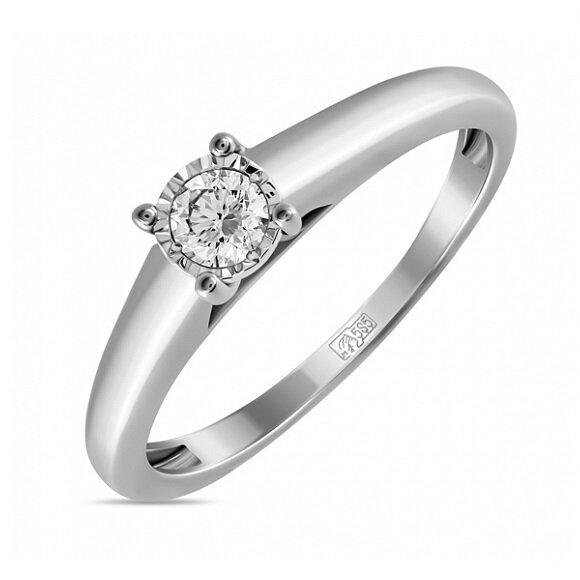 Кольцо с бриллиантом R01-D-PL-33916