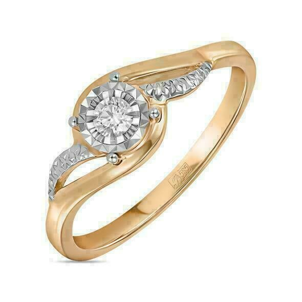 Кольцо с бриллиантом R01-D-RR010198ADI