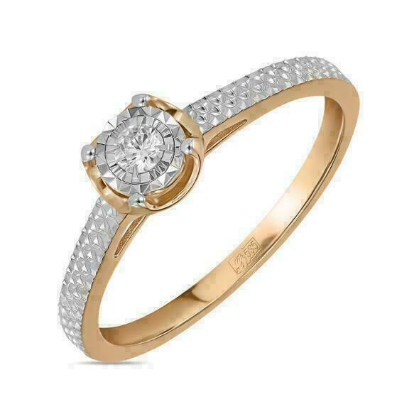 Кольцо с бриллиантом R01-D-RR010201ADI