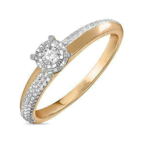 Кольцо с бриллиантом R01-D-RR010212ADI