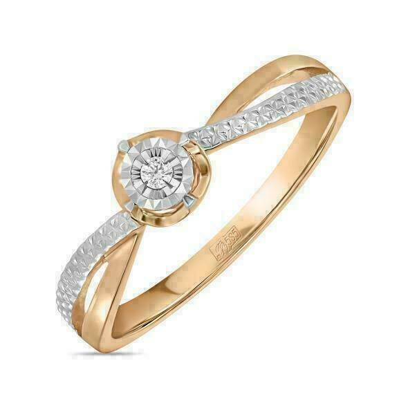 Кольцо с бриллиантом R01-D-RR010213ADI