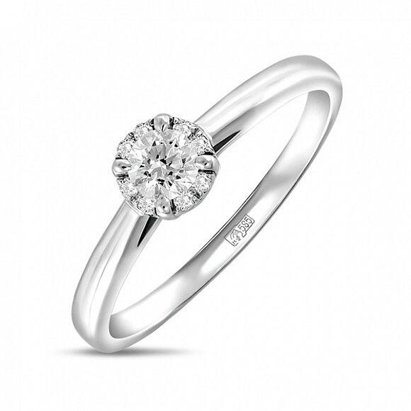 Кольцо с бриллиантами R01-D-SFM-09-020