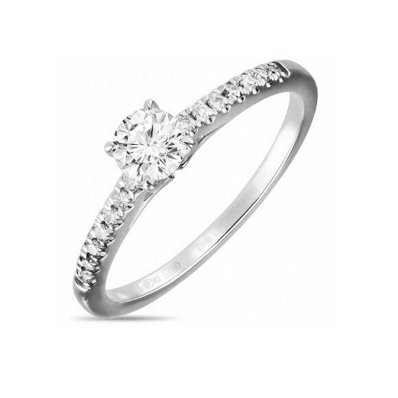 Кольцо с бриллиантами R01-D-SL02-020-G2