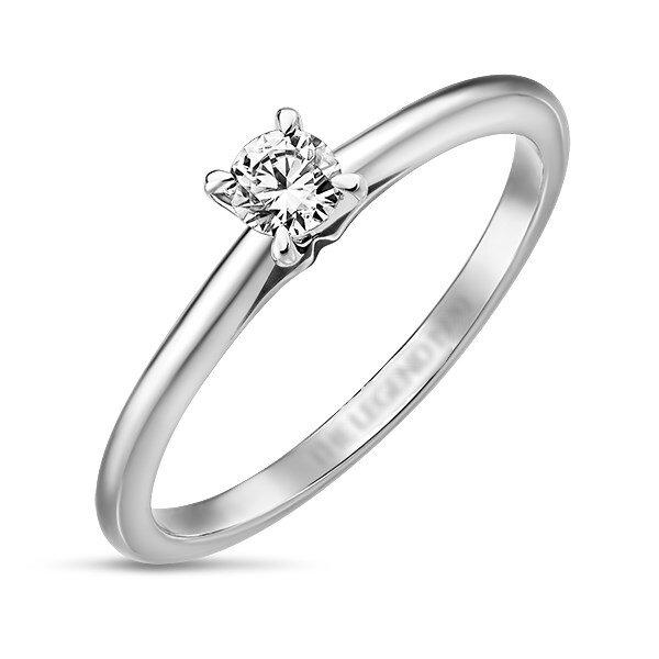 Кольцо с бриллиантом R01-D-SOL38-015-G3