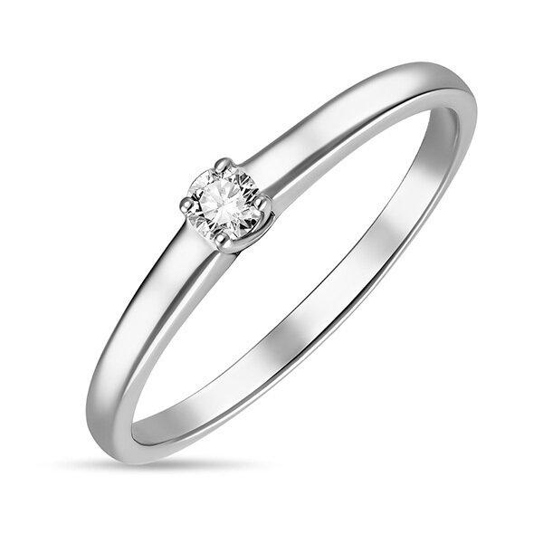Кольцо с бриллиантом R01-D-SOL40-010-G2