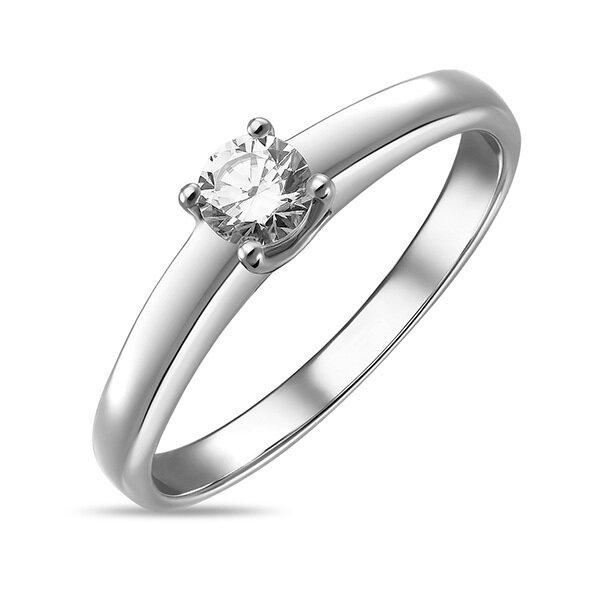 Кольцо с бриллиантом R01-D-SOL40-020-G2