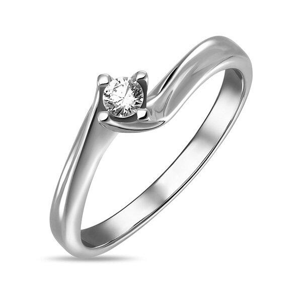 Кольцо с бриллиантом R01-D-SOL50-010-G3