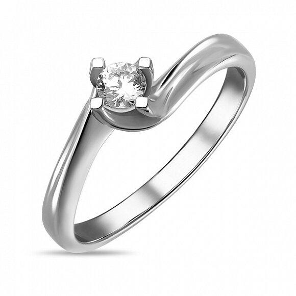 Кольцо с бриллиантом R01-D-SOL50-020-G2