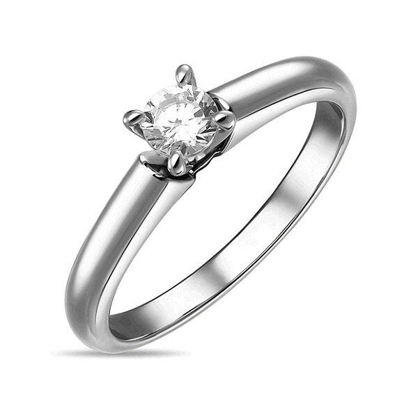 Кольцо с бриллиантом R01-D-SOL59-020-G2