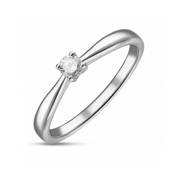 Кольцо с бриллиантом R01-D-SOL60-010-G3