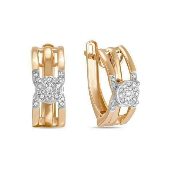 Серьги с бриллиантами E01-D-70666E001-R17
