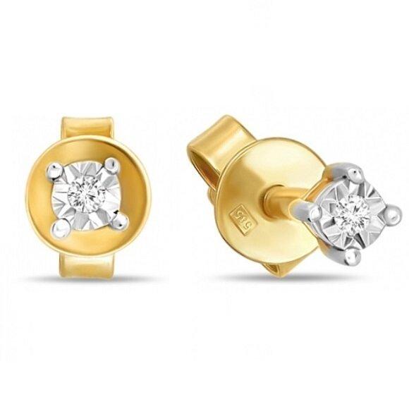 Серьги с бриллиантами E01-D-PL-34050