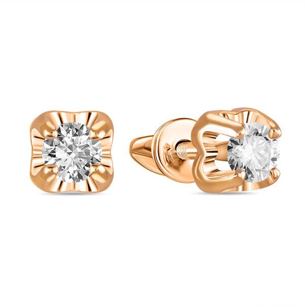 Серьги с бриллиантами E01-D-SOL28-030-G3